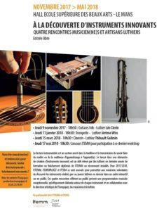 4 RENCONTRES MUSICIEN(NE)S ET ARTISANS LUTHIERS