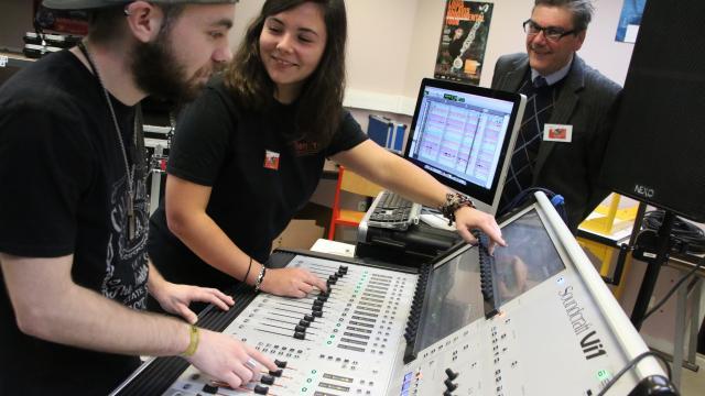 Le Mans. «La musique, des métiers d'avenir»