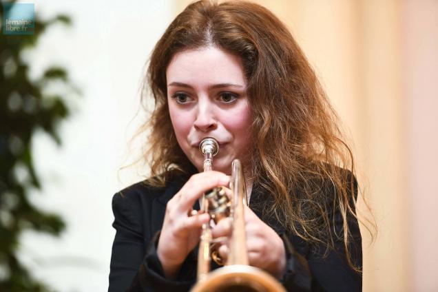 La trompettiste Lucienne Renaudin-Vary en concert jeudi