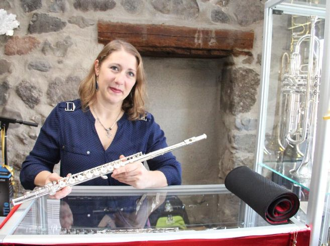 Le nouvel atelier ponot de réparation et d'entretien d'instruments a du pain sur la planche