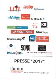 Panorama de presse 2017
