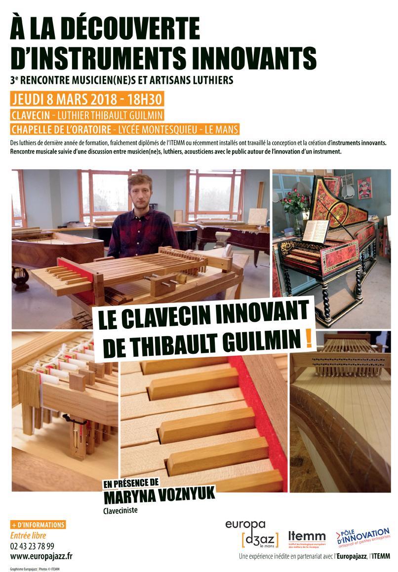À la découverte des instruments innovants #3 : Thibault Guilmin