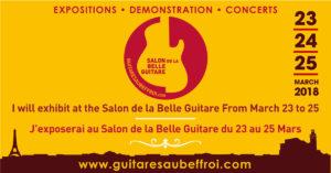 L'ITEMM au salon guitares au beffroi 2018