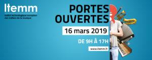 Portes ouvertes de l'ITEMM : 16 mars 2019