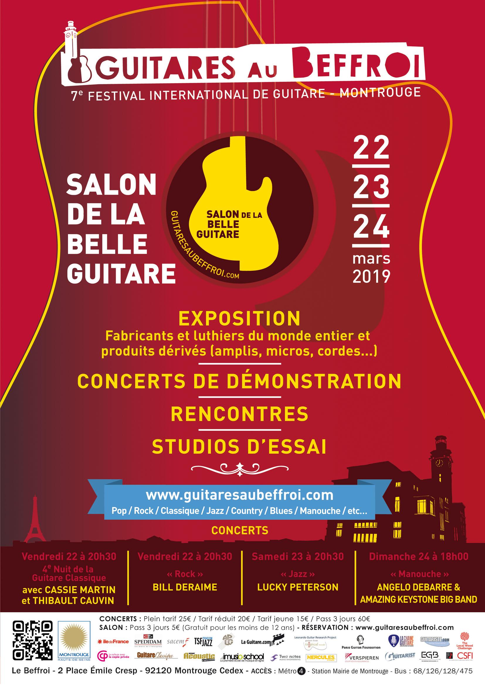 L'ITEMM au Salon de la Belle Guitare du 22 au 24 mars