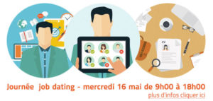 Job dating à l'ITEMM le jeudi 16 mai 2019