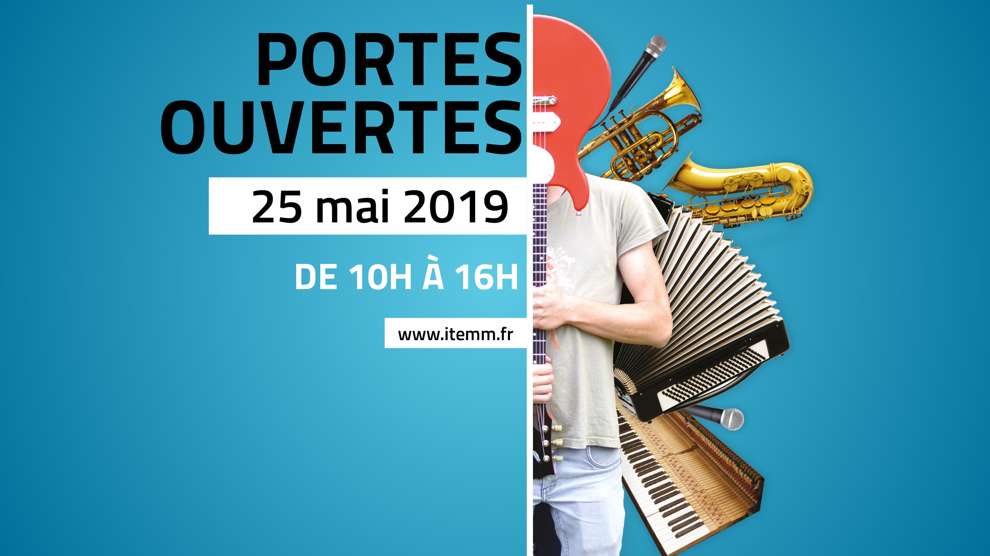 Portes ouvertes de l'ITEMM : Samedi 25 mai 2019