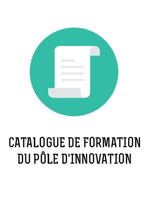 catalogue de formation du pole d'innovation