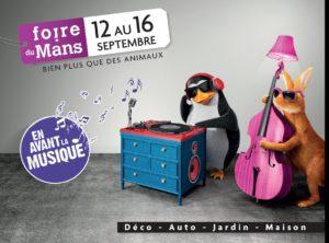[Communiqué de presse] L'ITEMM sera présent à la Foire du Mans (12 au 16 septembre 2019)