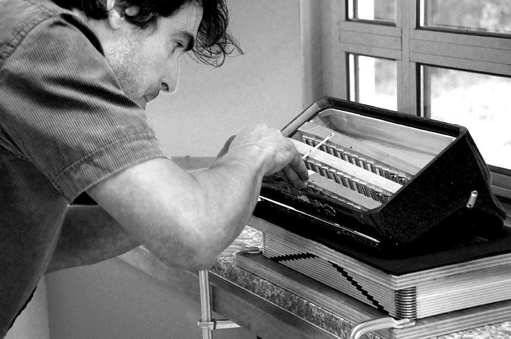 maintenance courante des accordéons