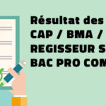 Résultat des examens 2019