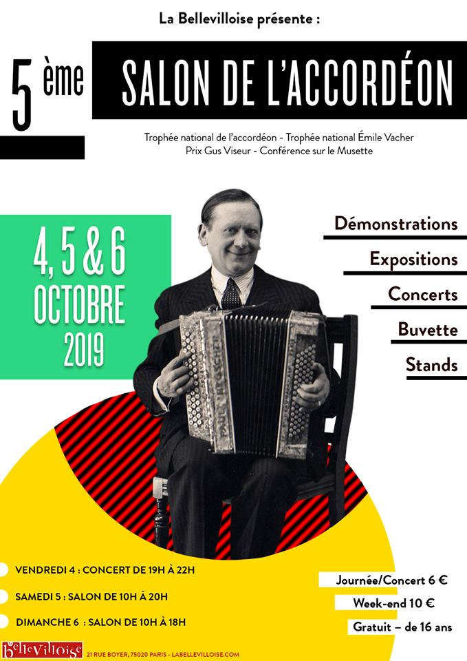 salon de l'accordéon 2019