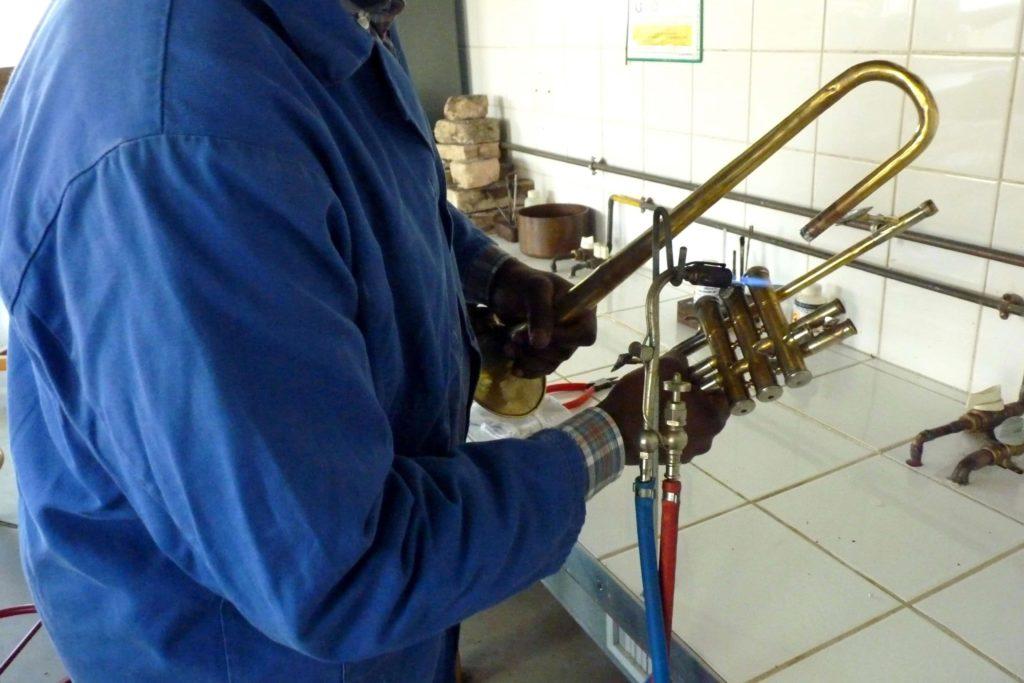 Brasures sur instruments à vent