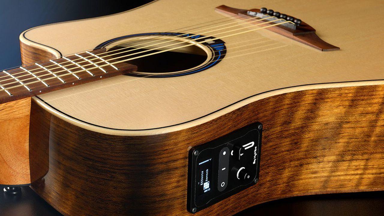 Lâg crée une « smart » guitare acoustique