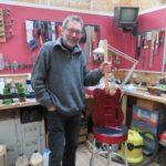 Luthier à Bosc-le-Hard, Serge Herault : « J'aime bien les bois de récup »