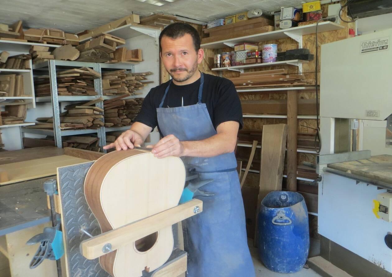 La Chapelle-Launay. Maxime Moretto, luthier à la Chapelle-Launay