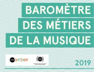 Baromètre 2019 des métiers de la musique