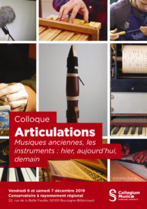 Programme Colloque Articulations