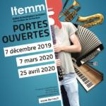 L'ITEMM ouvre ses portes le samedi 7 mars 2020