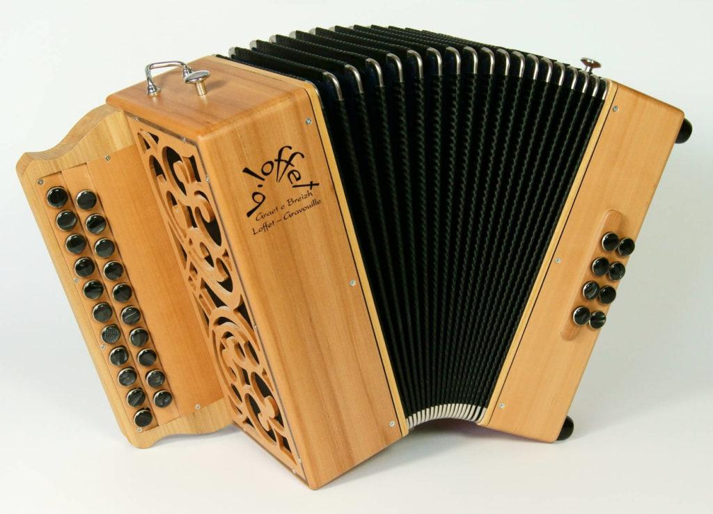 Fabrication d'un accordéon diatonique