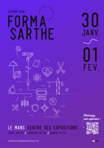 Retrouvez l'ITEMM au salon formasarthe du 31 janvier au 1 février 2020 sur le stand H01