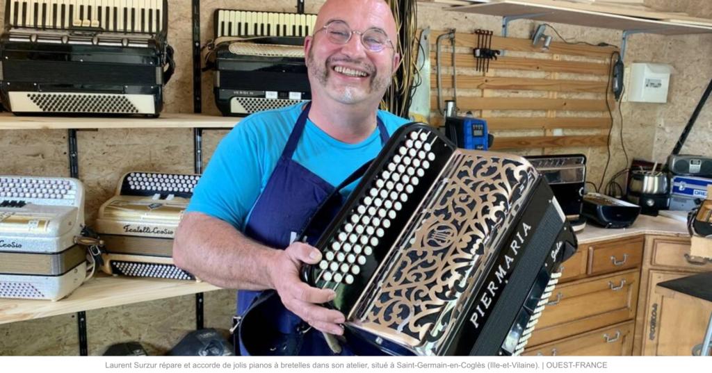nouvel accordeur-réparateur d'accordéons à Saint-Germain-en-Coglès